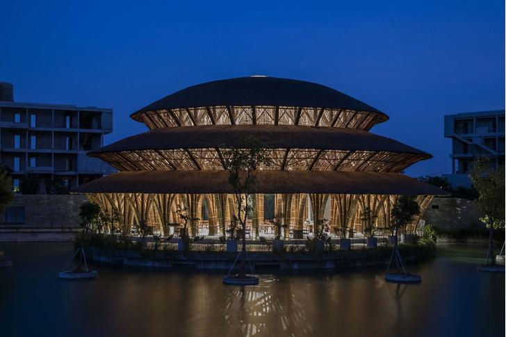 Фото №7 - Ресторан из бамбука во Вьетнаме