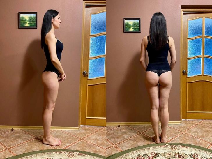 Фото №4 - Девушка 31 день приседала по 100 раз— как изменилось ее тело