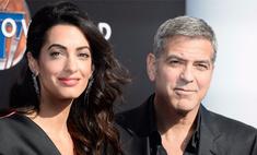 Супруги Клуни: «Еще детей? Спасибо, нет»