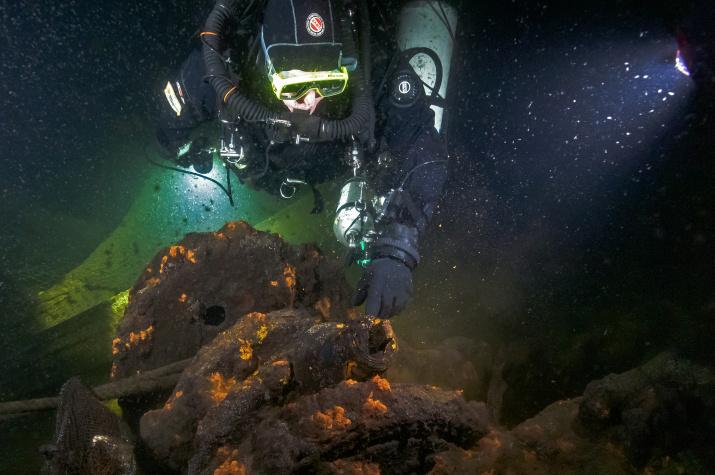Фото №1 - В Финском заливе обнаружены четыре погибших советских судна