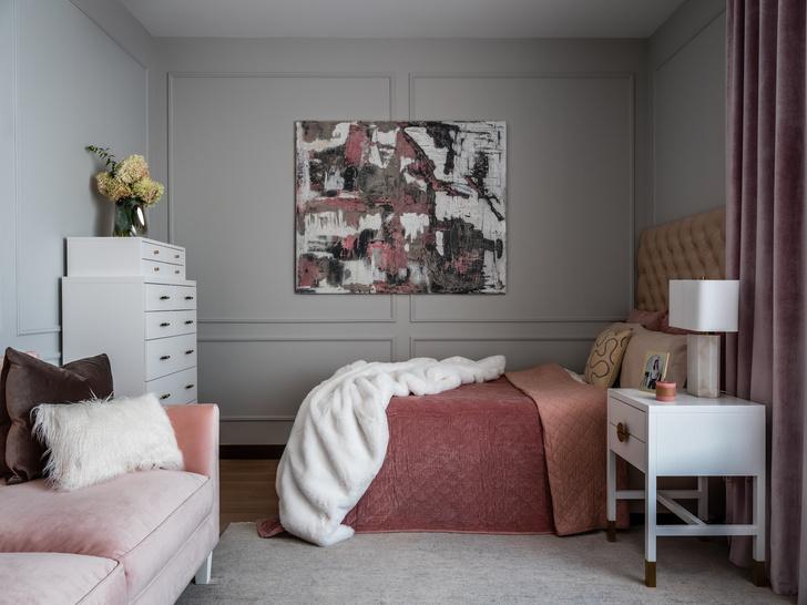 Фото №16 - Двухэтажная квартира с дровяным камином в центре Москвы
