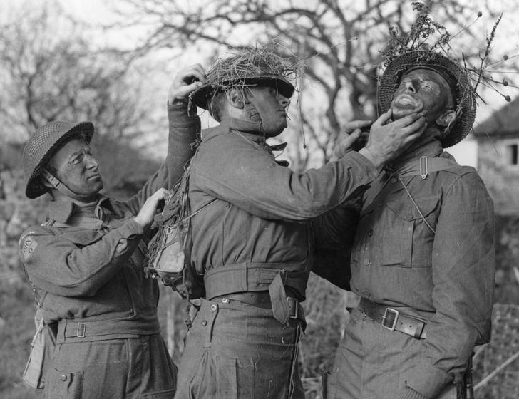 Фото №3 - Короли перевоплощения: 17 шедевров военной маскировки