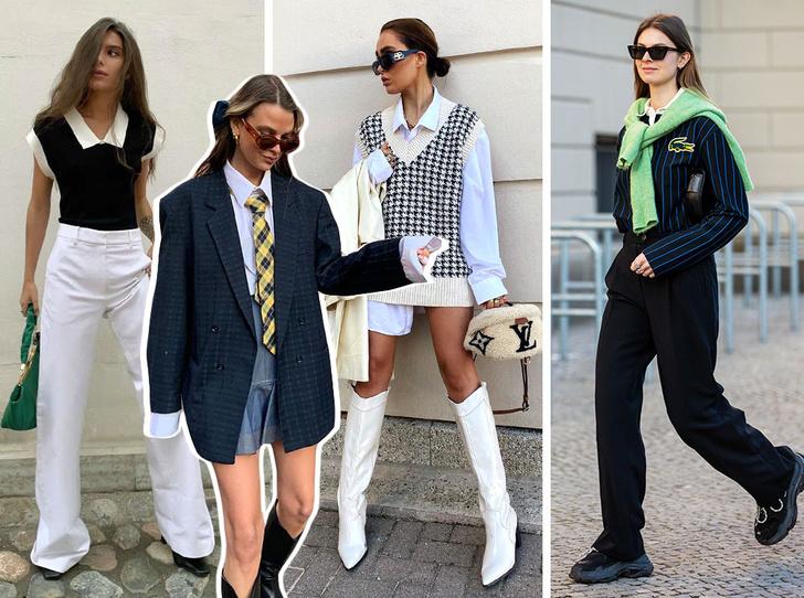 Фото №1 - Модная форма: как носить стиль преппи, если вы уже не школьница