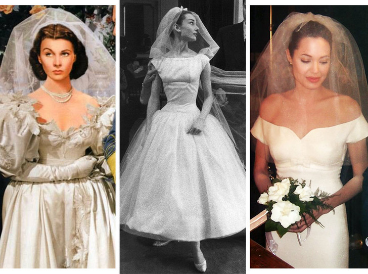 Фото №1 - 10 самых красивых свадебных платьев в истории кино