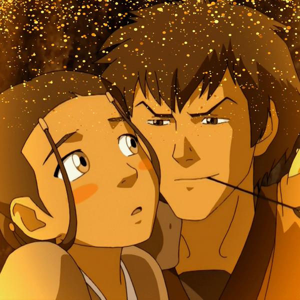 Фото №1 - Топ фанатских пар в «Аватаре: Легенде об Аанге», которым не суждено сбыться 💔