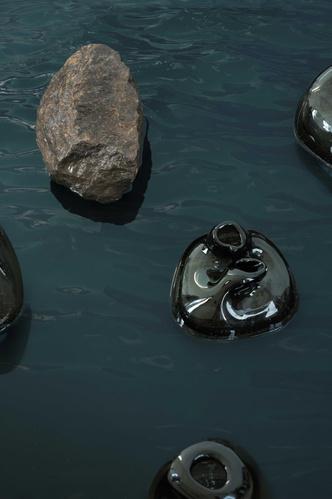 Фото №5 - Портреты воды: новая коллекция декора из стекла от Faina