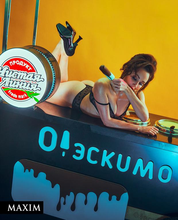 Фото №3 - Песнь льда и пломбира: фотосессия фигуристки Лизы Туктамышевой для MAXIM