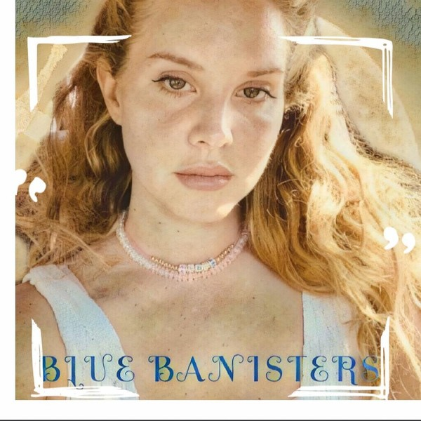 Фото №1 - «Сэкономила на дизайнере»: Лана Дель Рей показала обложку нового альбома, но фанаты ее раскритиковали