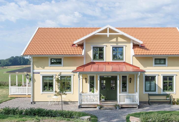 Фото №1 - Светлый дом для большой семьи в Швеции