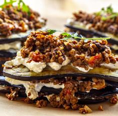 Паста, лазанья, бургеры: что необычного приготовить из баклажанов