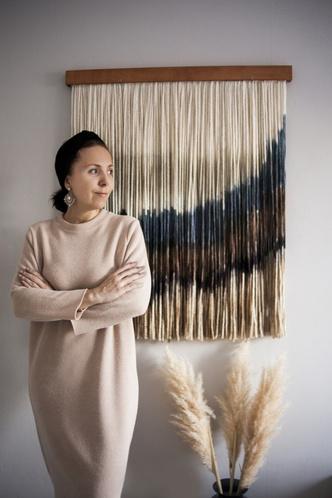 Фото №1 - Новые имена: текстильные панно Дарьи Горн