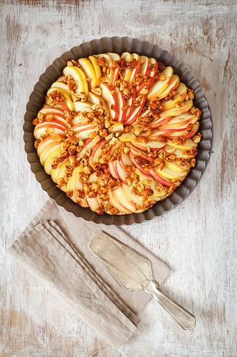 Яблочный пирог рецепт без муки