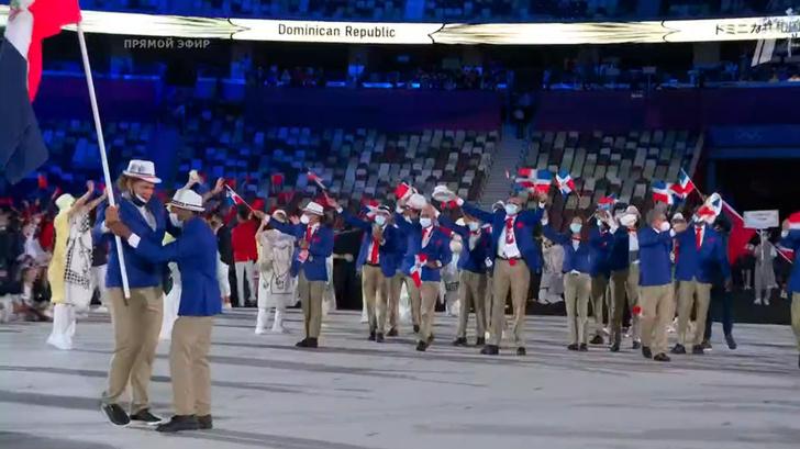 Фото №6 - Танцы ча-ча-ча, выступление актеров кабуки: как прошло открытие Олимпиады-2020 [прямая трансляция]