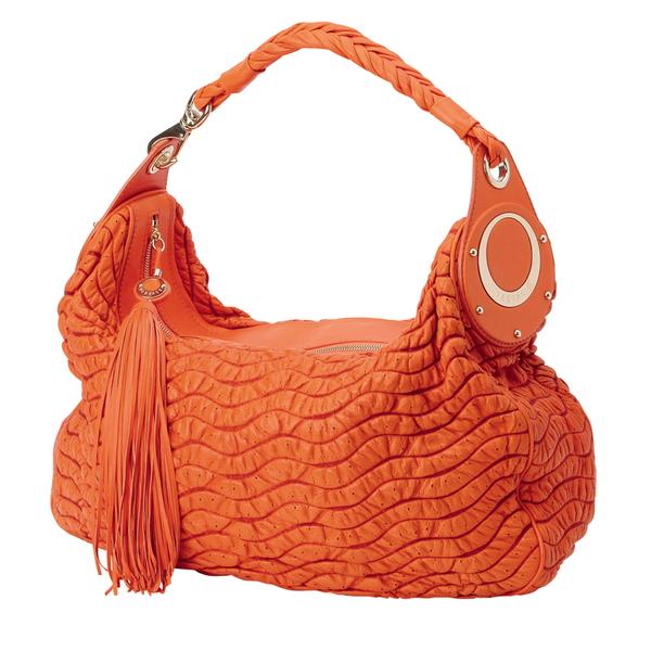 Стеганая кожаная сумка, Versace