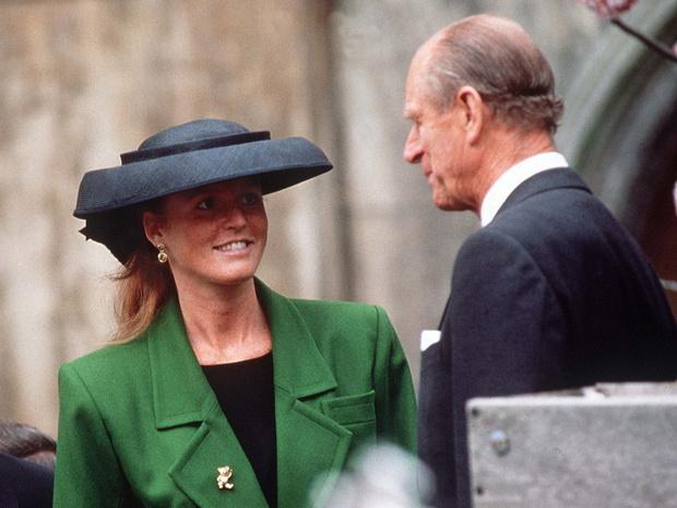 Фото №1 - Старая вражда: почему принц Филипп и Сара Фергюсон могут поссориться снова