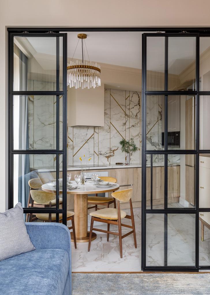Фото №1 - Элегантная квартира в Москве 75 м²
