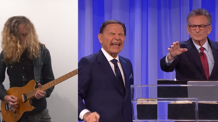 Фото №1 - Лучшие видео Андре Антунеса, блогера-музыканта, делающего метал-каверы на политиков и не только