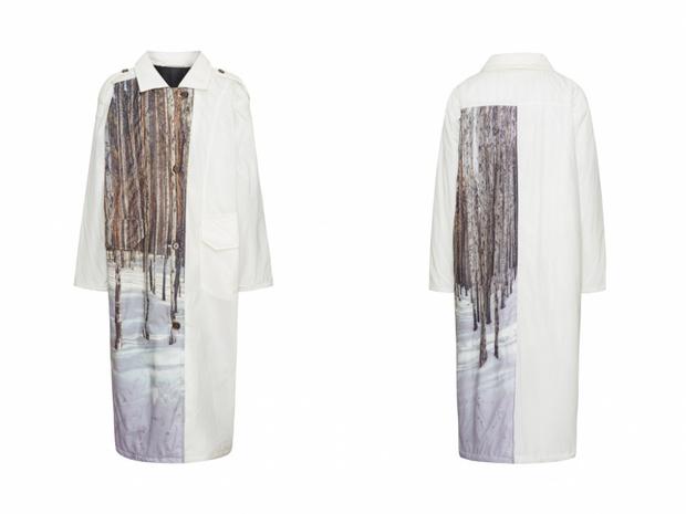 Фото №1 - White fall: дутое пальто WOS, которое будет греть вас всю зиму