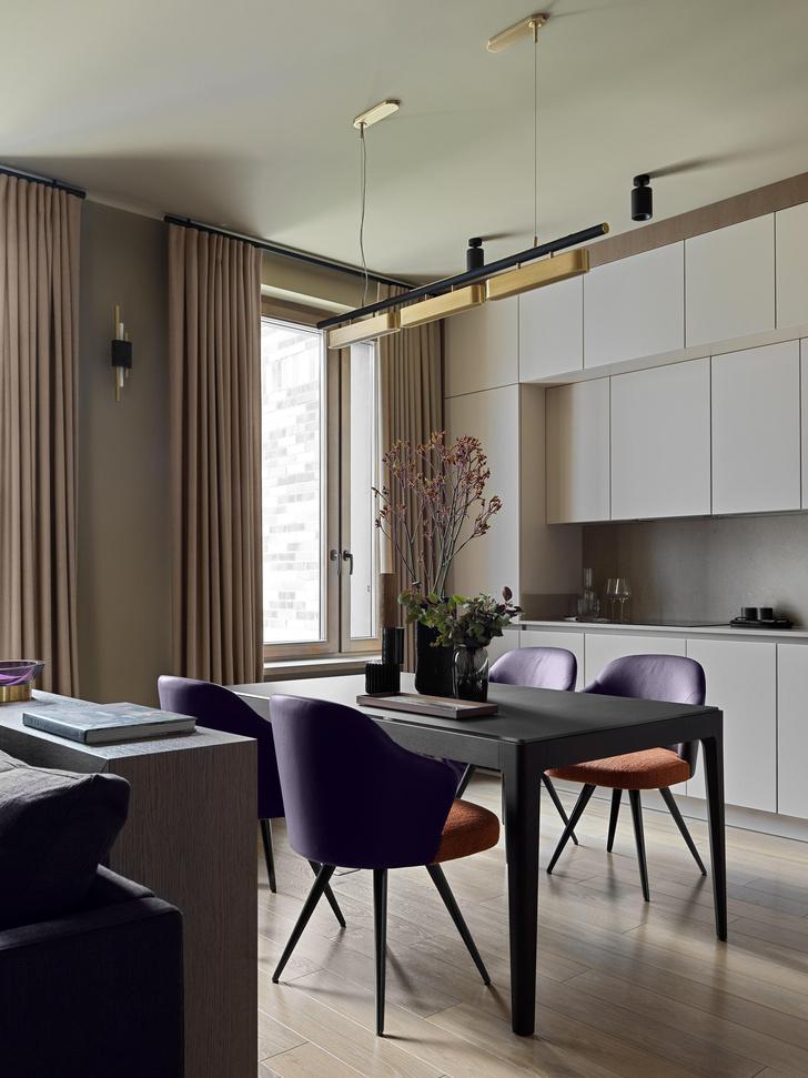 Фото №1 - Все краски осени: уютная московская квартира 70 м²
