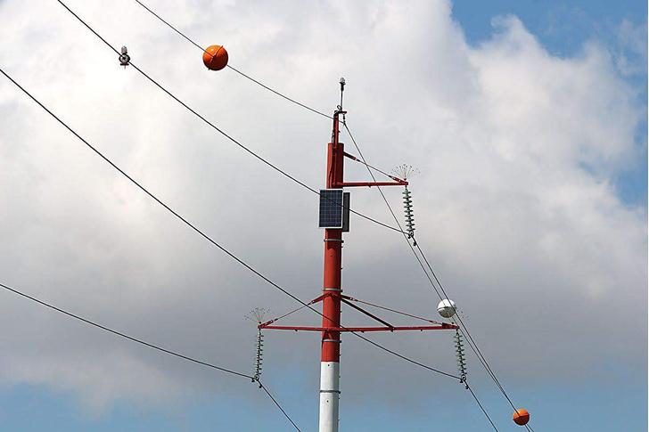 Фото №3 - Зачем на проводах вешают гигантские цветные шары