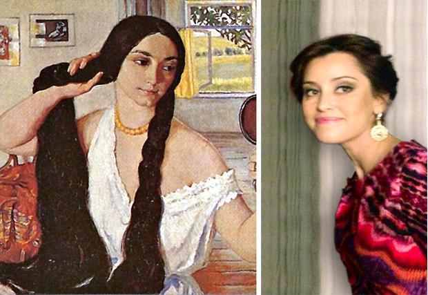 Прекрасные женщины на картинах художника Андрея Атрошенко ... | 427x620