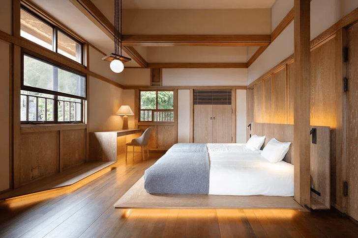 Фото №1 - Отель в стиле Фрэнка Ллойда Райта в Токио
