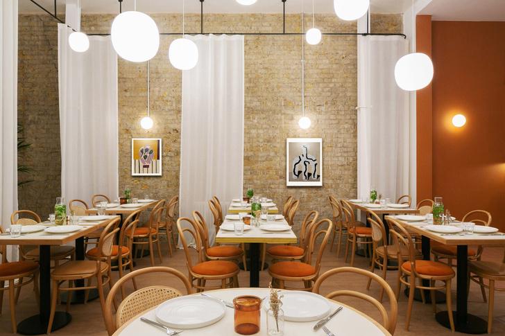 Фото №5 - Оранжевое кафе Beam в Лондоне
