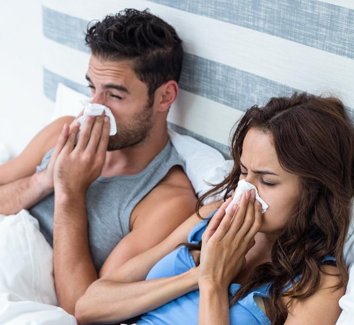Фото №1 - Потеря обоняния из-за коронавируса создает проблемы в сексе, обнаружили ученые