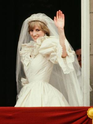 Фото №4 - Неизвестная история свадебной фаты принцессы Дианы