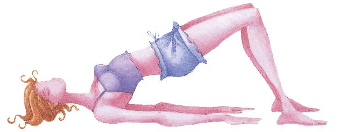 Фото №1 - Постнатальная (послеродовая) йога