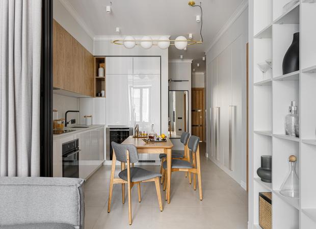 Фото №1 - Уютная светлая квартира 76 м² для молодой семьи с ребенком