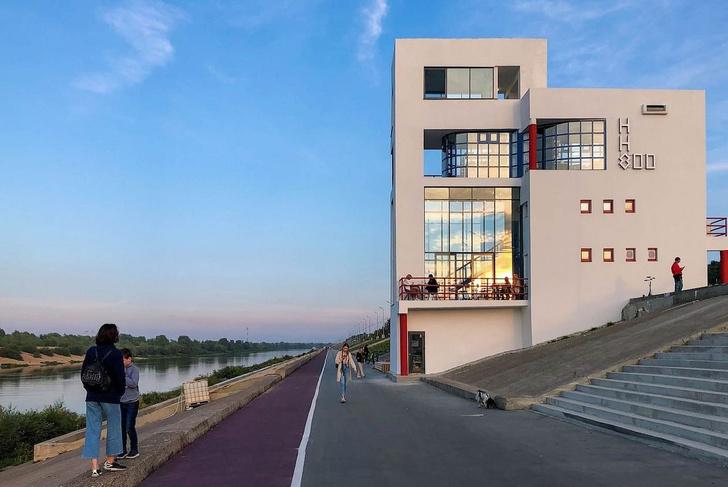Фото №1 - В Нижнем Новгороде реконструировали здание судейской вышки