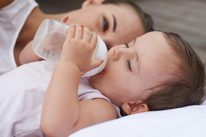 Фото №1 - Растительные масла в составе детских молочных смесей