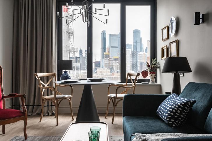 Фото №1 - Квартира 45 м²: в гостях у дизайнера Леси Печенкиной