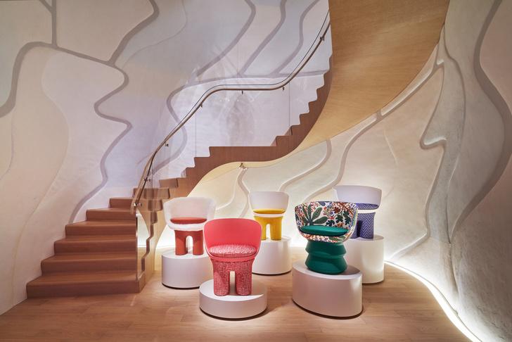 Фото №9 - Флагман Louis Vuitton в Токио: проект Джуна Аоки и Питера Марино
