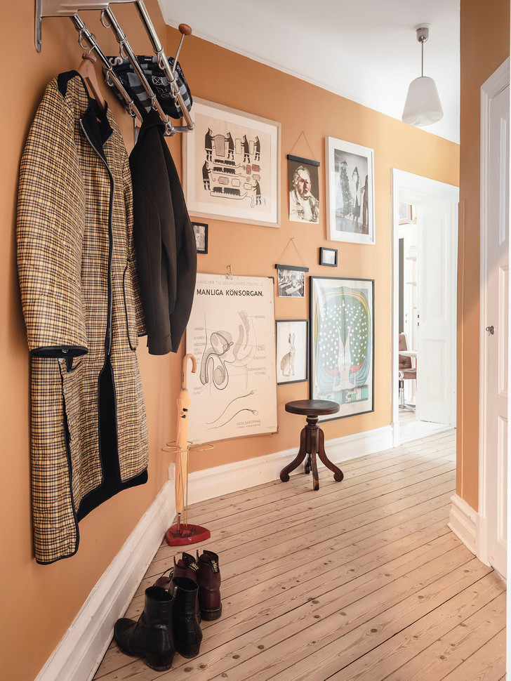 Фото №5 - Уютная скандинавская квартира с микро-спальней в Гетеборге