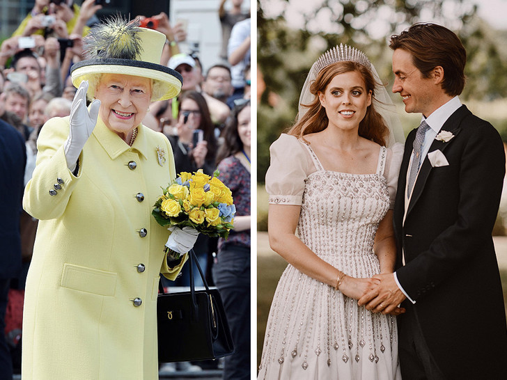 Фото №1 - Почему Королеве пришлось покинуть свадьбу принцессы Беатрис раньше всех
