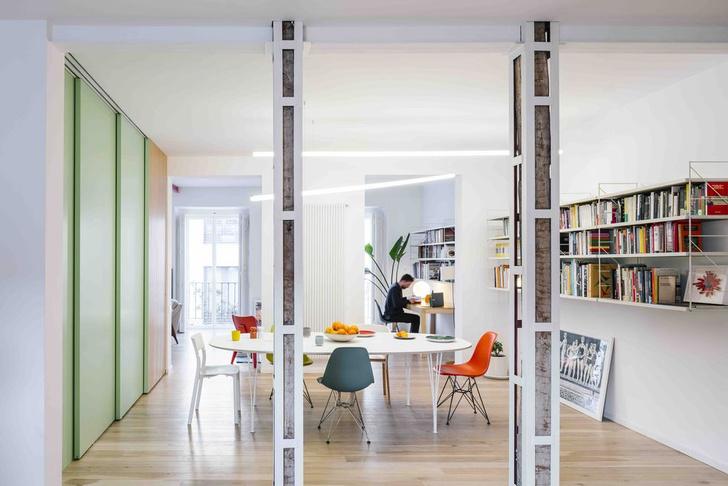 Фото №2 - Яркая квартира в Мадриде
