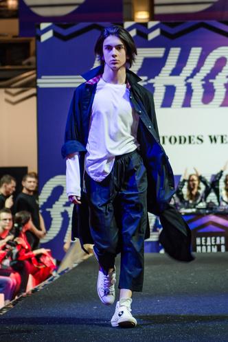 Фото №4 - Лучшие образы Street Fashion подиума с Недели моды в Москве