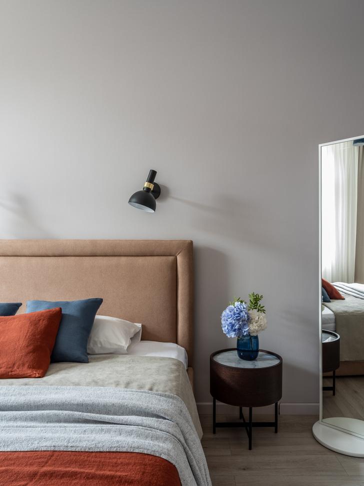 Фото №11 - Квартира 100 м² в оттенках зелени, моря, песка и заката