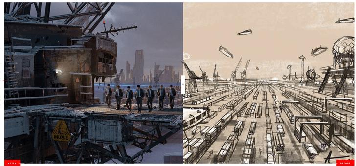 Фото №2 - Как связаны российские заброшенные корабли и планета BTS из клипа «My Universe»? ✨