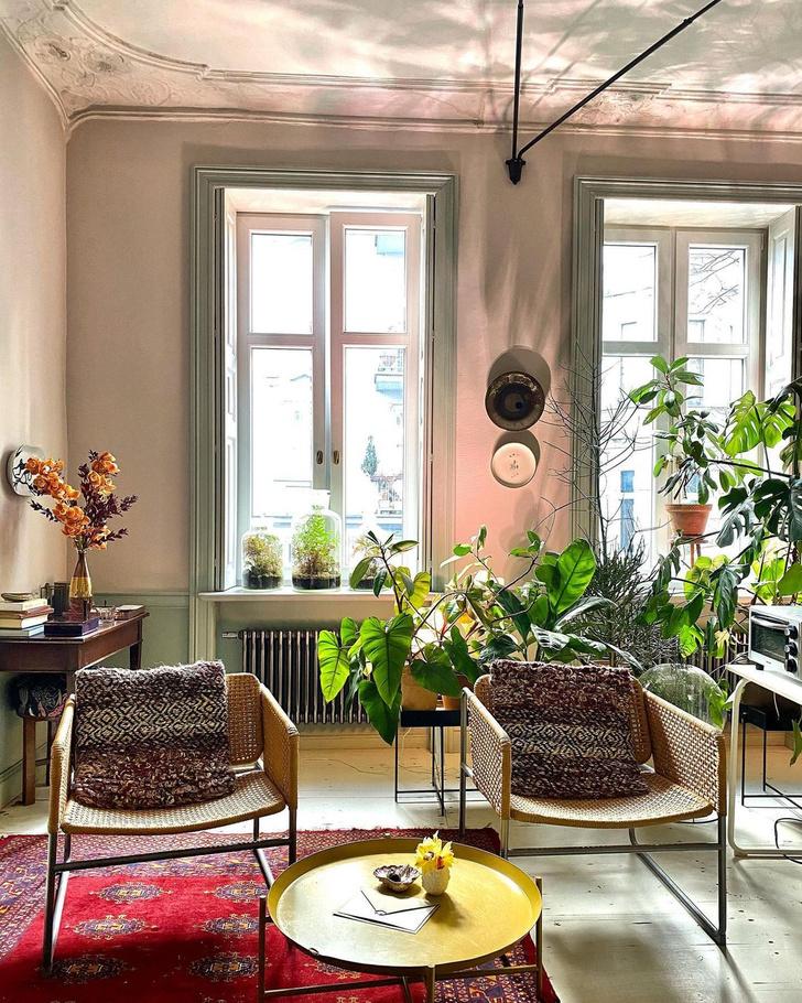 Фото №10 - Квартира польских флористов в Познани