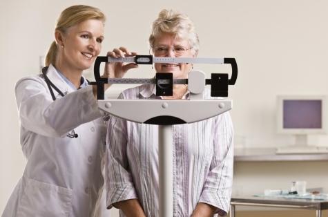 Набор веса как симптом менопаузы