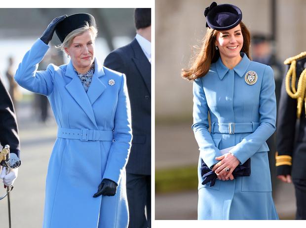 Фото №1 - Сестры по стилю: модные образы, которые Кейт и Софи повторяли друг за другом