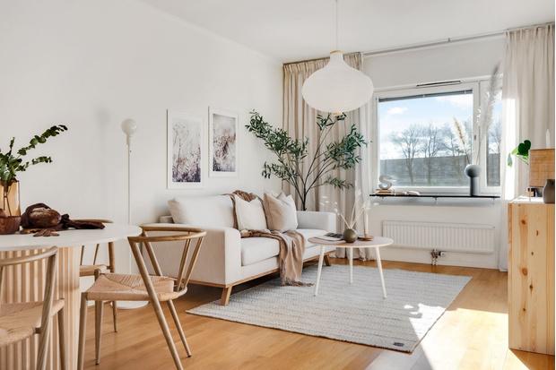Фото №1 - Гостиная в скандинавском стиле: советы по декору и оформлению