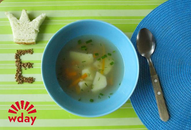 Суп с гречкой фото