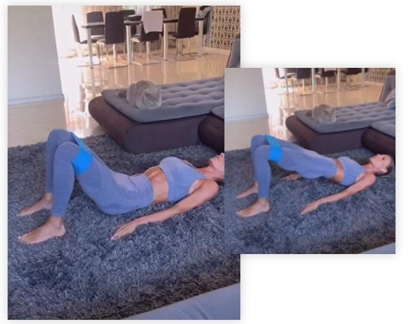 Фото №9 - 7 лучших упражнений с фитнес-резинкой для подтянутой фигуры