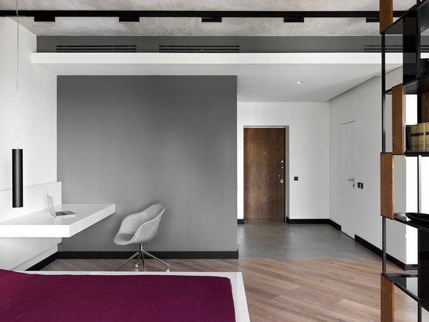 Фото №9 - Апартаменты в стиле минимализм на Маяковской