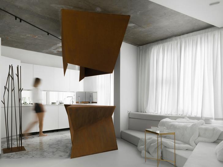 Фото №1 - Московская квартира 70 м² в духе супрематизма