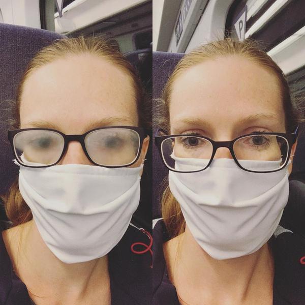 Фото №1 - 10 гениальных хаков для тех, у кого в маске запотевают очки